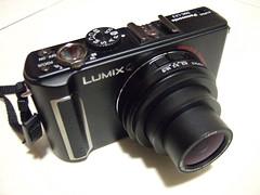 LX3, lens extended