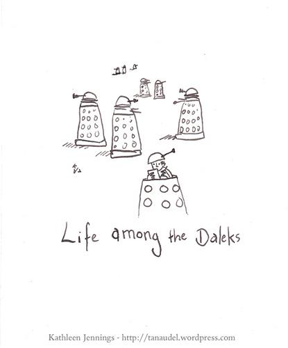 Life among the Daleks