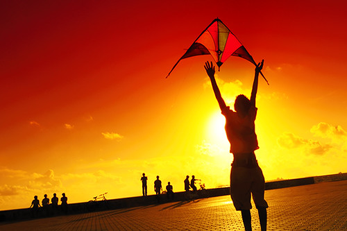 fly your kite, be good again...! by muha....
