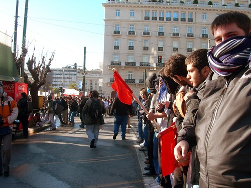 08 Protest in Athens