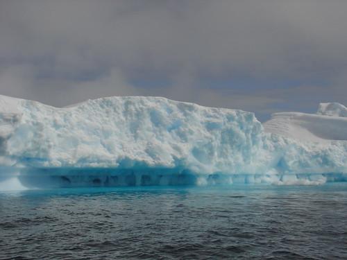 placa de hielo en la Antártida