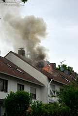 Dachstuhlbrand Nordenstadt 24.05.08