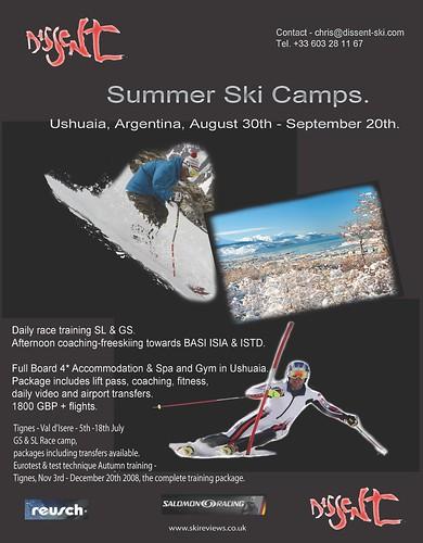 Summer Ski Camps