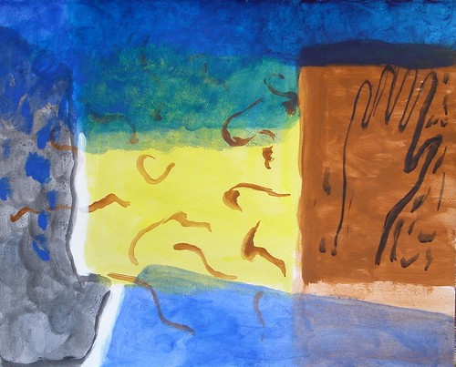 A Possible Sunrise (July Paintings 1)