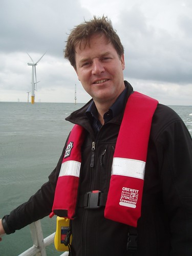 Nick Clegg and offshore wind farm