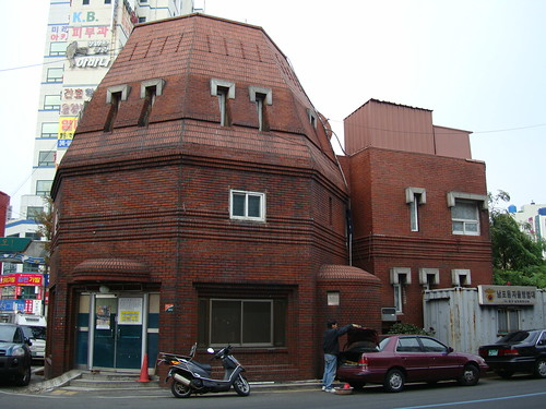 Police station in Busan 남포동