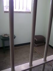 Nelson Mandelas prison cell.