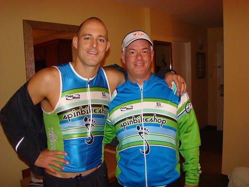 Jim and Rob at Clearwater