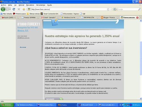 página Forex