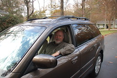Me in My New Subaru