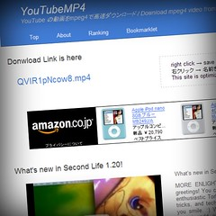 YouTubeMP4 to play YouTube in Second Life