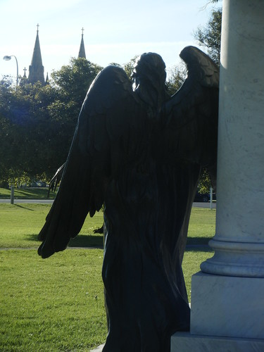 Angel at the Angas memorial