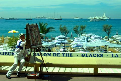 la Croisette - Cannes - Eugene Hernandez