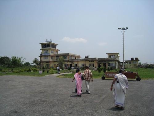 Airport near Nepal's eastern border