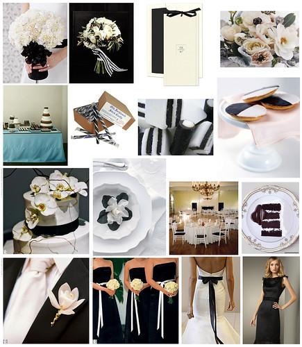2569708719 ae2d80c034 Baú de ideias: Decoração de casamento preto e branco