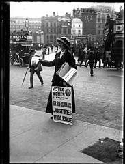 Angleterre Suffragette