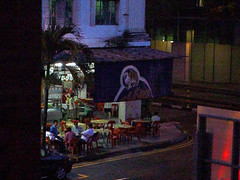 Dusk on Armenian Street