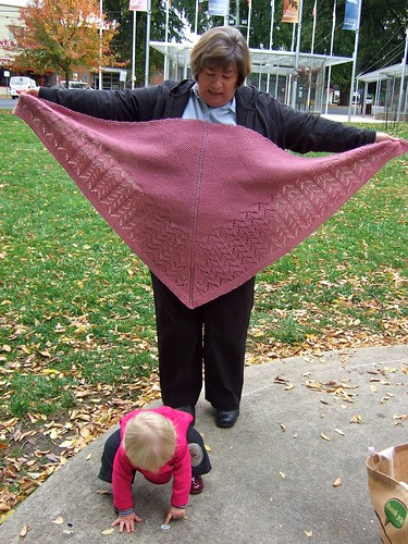 Mum, Alice and Shawl