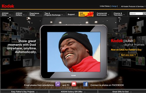Kodak.com for Father's day