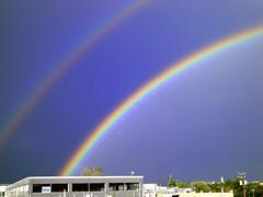 Montréal - Never seen a double rainbow