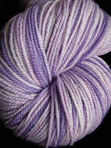 Wisteria on Tiger Twist sock yarn