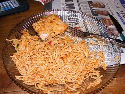 salmonspaghetti