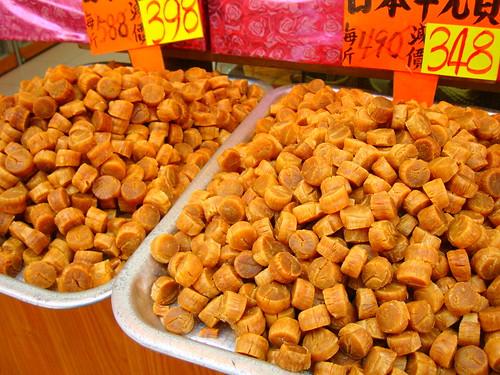 Sheung Wan dried scallops