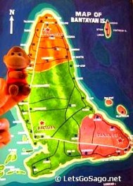 Bantayan Island Map