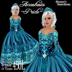 Anastasia - Gown - Pride - Petite - Ad