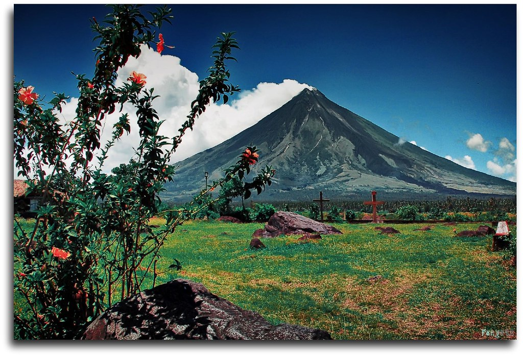 Mayon Volcano of the Philippines