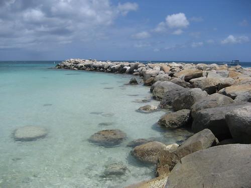 Palm Beach or Eagle Beach