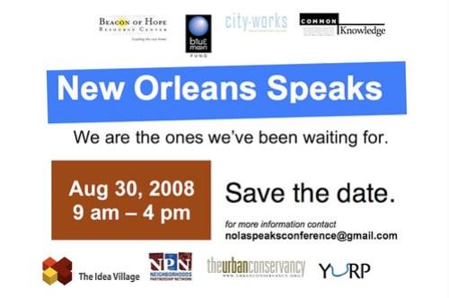 New Orleans Speaks