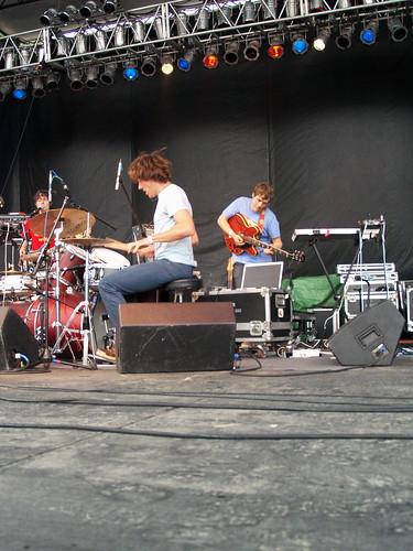 Caribou @ Pitchfork 2008, Chicago 07/18/08