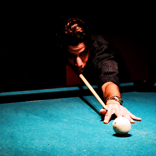Being a pool player