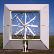vertical axis wind mill