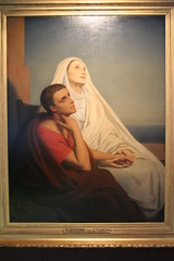 Augustine of Hippo and his mother Saint Monica