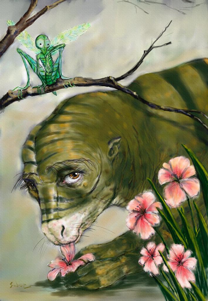 flower creature