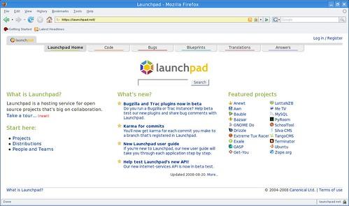 albergue de proyectos open source