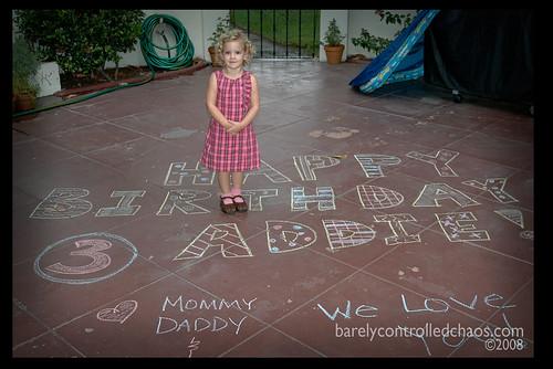 Happy Birthday Addie Wishes