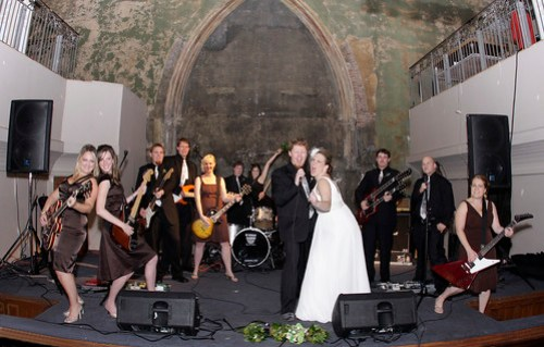 Rock n Roll wedding party!