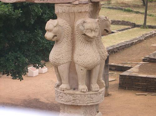 El pilar de Ashoka
