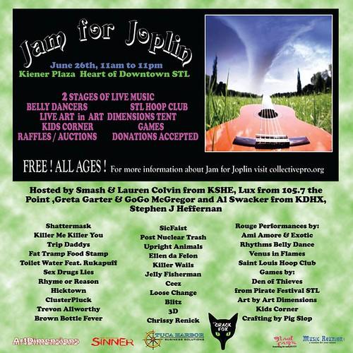 Jam For Joplin 6-26-11
