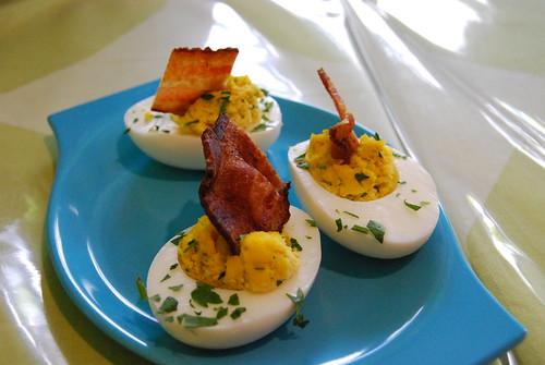 Angel Food deviled eggs