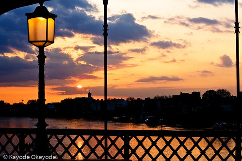 Hammersmith Riverside Sunset