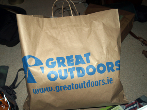 great outdoors bag