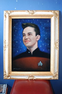 Yes, that is a Velvet Wesley Crusher