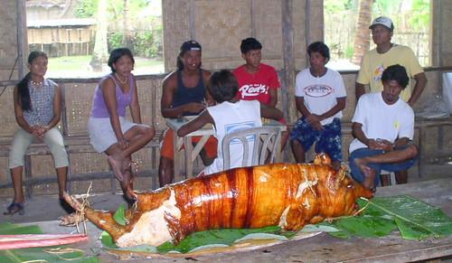 Siargao Island, Surigao del Norte Lechon  Buhay Pinoy Philippines Filipino Pilipino  people pictures photos life Philippinen