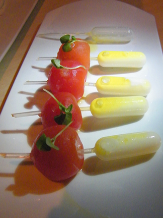 Mozzarella Tomato Pipettes MyLastBite.com