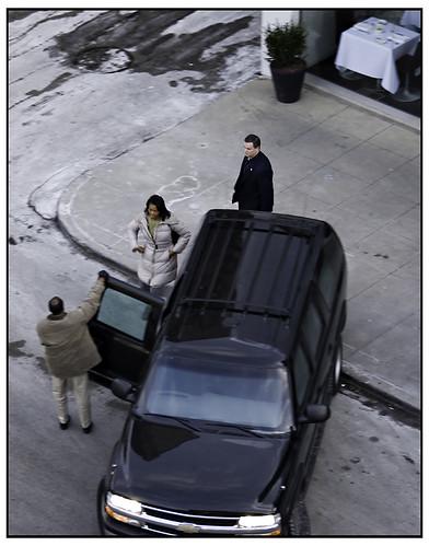 Michelle Obama at Blackbird
