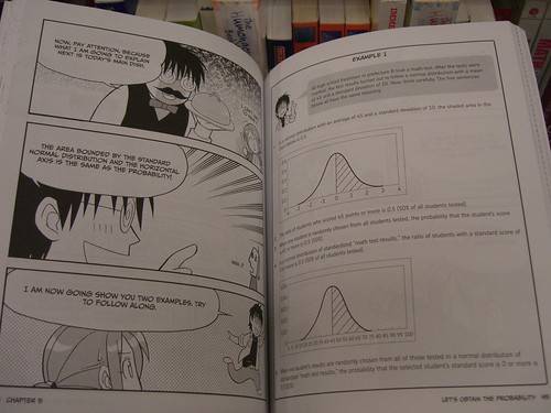 "Inside ""The Manga Guide to Statistics"""